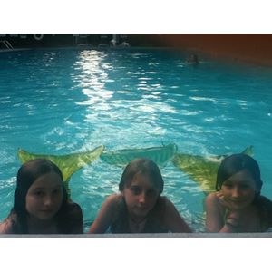 some of my best friends with me we are mermaids