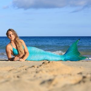 Mermaid tail Arielle without monofin