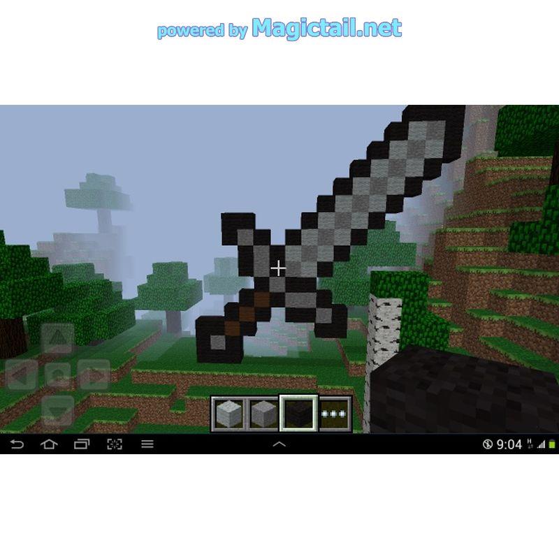 Pixel Art Schwert Minecraft Pe Demo