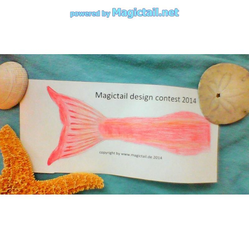 Coral Reef Mermaid Tail