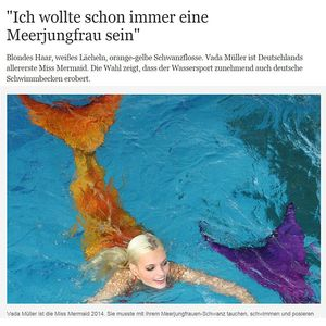 Die Welt: Be a Mermaid