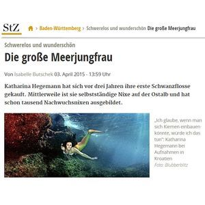 Stuttgarter Zeitung: Weightless and beautiful