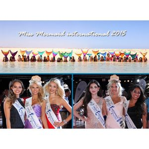 Miss Mermaid international 2015 Gewinnerinnen