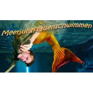 Mermaid swimming - Stuttgart
