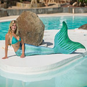 Mermaid tail Pro Arielle without monofin
