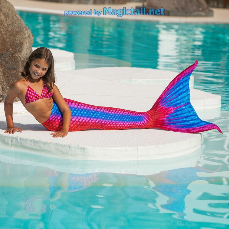 Mermaid costume Ruby S