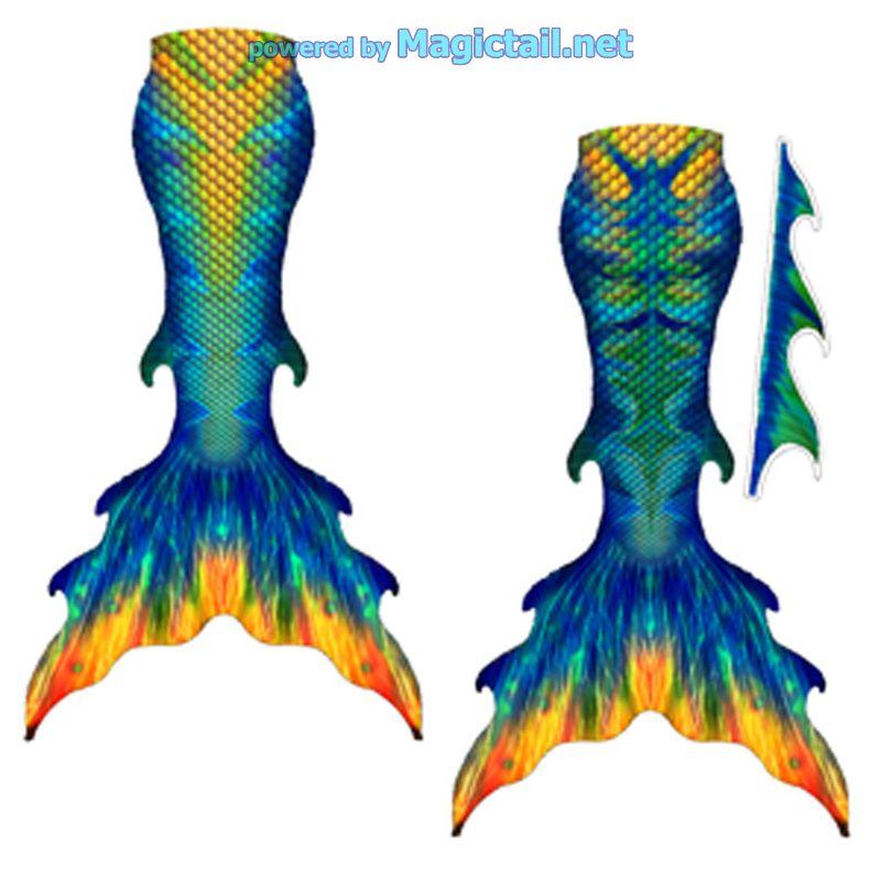 Mermaid Tail Set Sunny Sea