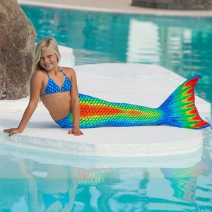 Mermaid tail Rainbow XS