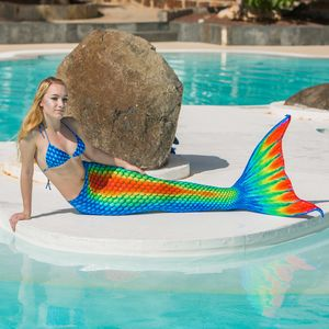 Mermaid tail Rainbow