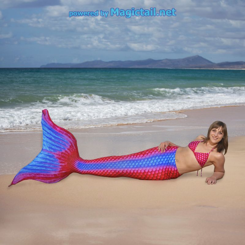 Mermaid costume pro Ruby XL