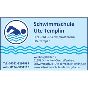 DE 61389 Swimming school Ute Templin