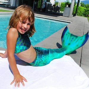 Mermaid tail Deep Sea XS