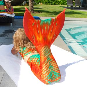 Mermaid tail Copper Fish XS