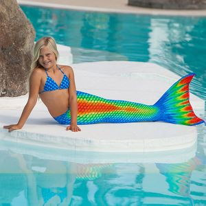 Mermaid tail Rainbow XS without monofin